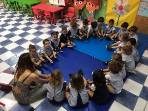 VÍDEO | Arco Iris con la clase de 3 años  :  )