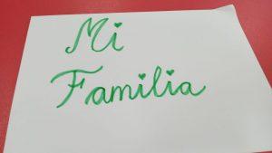 Mi familia (4 Años)